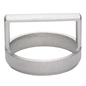 Taglia tigelle in alluminio - FONDSTAMP Linea  - Diametro cm 8,5 - Imballo confezione da n. 1 Unità