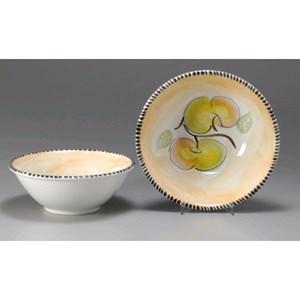 Insalatiera in ceramica - MONTE SORATTE Linea 2 MELE - Diametro cm 30 - Imballo confezione da n. 8 Unità