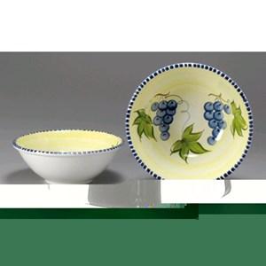 Insalatiera in ceramica - MONTE SORATTE Linea UVA - Diametro cm 27 - Imballo confezione da n. 12 Unità