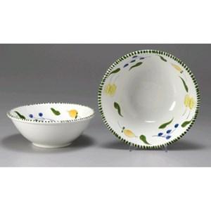 Insalatiera in ceramica - MONTE SORATTE Linea AGRUMI - Diametro cm 27 - Imballo confezione da n. 8 Unità