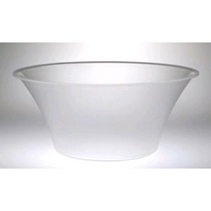 Coppa tonda in policarbonato - ALADINO Linea - Codice 07.01 - Diametro cm 40 - Altezza cm 18 - Imballo confezione da n. 1 Unità