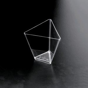 C/25 bicchieri scudo in polistirolo - GOLD PLAST Linea - Codice 6003 - Capacità 7,5 cl  - Imballo confezione da n. 1 Unità