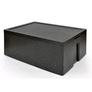 CONTENITORE ISOTERMICO IN POLISTIROLO - POLIBOX Linea MAXI - MOD. 110952 - Dimensioni cm L 68,5 x P 48,5 x 33 h - Imballo confezione da n. 1 Unità