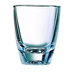 Bicchiere - ARCOROC Linea GIN- Codice 00024 - Capacità 3 cl  - 1oz - Diametro mm 42 - Altezza mm 52 - Imballo confezione da n. 24 Unità