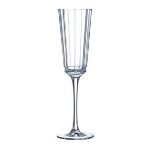 Calice flute in vetro diamax - CRISTAL D'ARQUES Linea MACASSAR- Codice l6588 - Capacità 17 cl  - 5  3/4 oz - Diametro mm 59 - Altezza mm 233 - Imballo confezione da n. 6 Unità