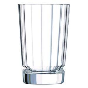 Bicchiere in vetro diamax - CRISTAL D'ARQUES Linea MACASSAR- Codice l6592 - Capacità 36 cl  - 12oz - Diametro mm 84 - Altezza mm 129 - Imballo confezione da n. 6 Unità