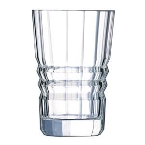 Bicchiere in vetro diamax - CRISTAL D'ARQUES Linea ARCHITECTE- Codice l6586 - Capacità 36 cl  - 12oz - Diametro mm 84 - Altezza mm 129 - Imballo confezione da n. 6 Unità
