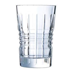 Bicchiere in vetro diamax - CRISTAL D'ARQUES Linea RENDEZ VOUS- Codice l8237 - Capacità 36 cl  - 12oz - Diametro mm 83 - Altezza mm 129 - Imballo confezione da n. 6 Unità