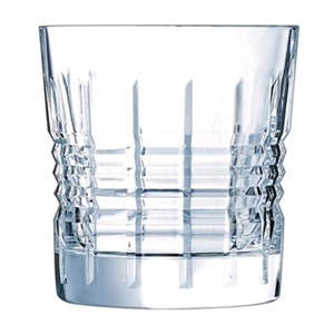 Bicchiere in vetro diamax - CRISTAL D'ARQUES Linea RENDEZ VOUS- Codice l6630 - Capacità 32 cl  - 10  3/4 oz - Diametro mm 89 - Altezza mm 95 - Imballo confezione da n. 6 Unità