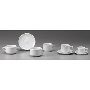 Piatto per tazza caffè - ROYAL PORCELAIN Linea FORMA 32 CLASSIC- Codice 3217 - Diametro cm 12 - Imballo confezione da n. 6 Unità