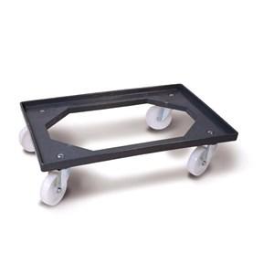 Carrello senza griglia in abs - GIGANPLAST Linea - Codice 1860 - Dimensioni cm 60x40 - Imballo confezione da n. 1 Unità