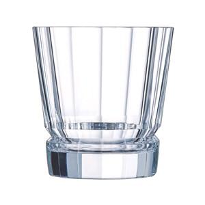 Bicchiere in vetro diamax - CRISTAL D'ARQUES Linea MACASSAR- Codice l6609 - Capacità 32 cl  - 10  3/4 oz - Diametro mm 92 - Altezza mm 99 - Imballo confezione da n. 6 Unità