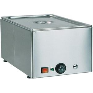 TAVOLA CALDA BAGNOMARIA DA BANCO - MOD. BMA - Struttura in acciaio inox - Termostato regolabile +30°/+90° C - Alimentazione 230V/1/50-60Hz