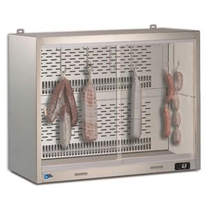 ESPOSITORE PENSILE REFRIGERATO - SERIE CLIPPER SA SG - STRUTTURA IN ACCIAIO INOX - Temp. °C +4/+8 - MONOFASE - STATICA - PORTE SCORREVOLI - QUADRO ELETTRICO COMPLETO DI TERMOSTATO