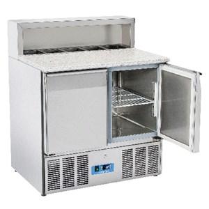 Saladette e banco pizza refrigerato in acciaio inox Cool Head CRP 90A