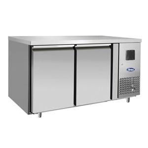 Tavolo refrigerato in acciaio inox Atosa EPF3461GR-304T