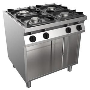 Cucina a gas 4 fuochi Casta F7/KUG4BA linea FAST