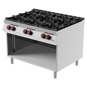 Cucina a gas 6 fuochi Desco FA093M0 linea BOHEME