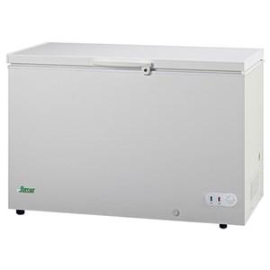 CONGELATORE A POZZETTO - Mod. G-BD450S - Refrigerazione statica - Sbrinamento manuale - Temperatura -18ºC - Capacità Lt. 368 - Dimensioni esterne cm L 127,5 x P 75 x 85 h - Norma CE