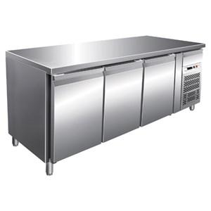 Tavolo refrigerato in acciaio inox Forcar G-GN3100BT