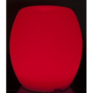 LAMPADA LUMINOSA TAMBURO - MOD. NJ535 - PER USO INTERNO - CONFEZIONE DA N. 1 - DIM. cm Ø 42 x 45 h - NORMA CE