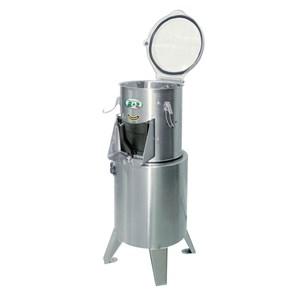 PELACIPOLLE - Mod. PLC4 - Capacità di carico kg 4 - Produzione oraria Kg/h 45 - Potenza hp 0,5 - Kw 0,37 - Trifase  V/Hz 400/50 - Norma CE