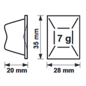 FABBRICATORE DI GHIACCIO A CUBETTI PIATTI - SISTEMA EVAPORATORE VERTICALE - Cod. DZD230 - TIPO DI CUBETTO gr 7 - PRODUZIONE FINO A kg 105/24 h - Dim. cm L 73,8 x P 60 x H 98 - Norma CE