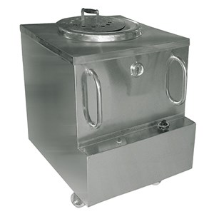 FORNO TANDOORI A GAS - MOD. TANDOOR - Struttura esterna in acciaio inox - Potenza Kw 10 - Dimensioni mm. L 710 x P 760 x h 940