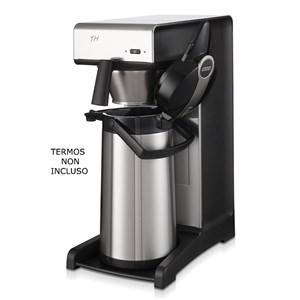 MACCHINA CAFFE' IN ACCIAIO INOSSIDABILE - MOD. TH - N. 1 SISTEMA DI INFUSIONE - PRODUZIONE ORARIA Lt. 19 - TEMPO PREPARAZIONE 7 MINUTI LT. 2,2 - POTENZA W 2310 - DIMENSIONI mm. L 235 x P 406 x 545 h