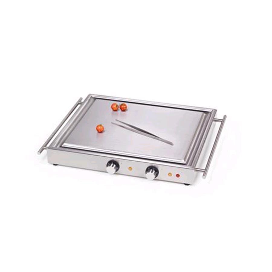 Piastra elettrica portatile mod 697030 teppan yaki in - Piastra in acciaio inox per cucinare ...