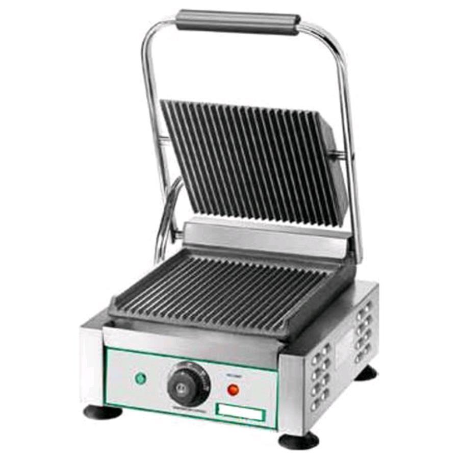 Piastra cottura in ghisa elettrica mod eg 02 piastra singola rig - Piastre per cucinare elettriche ...