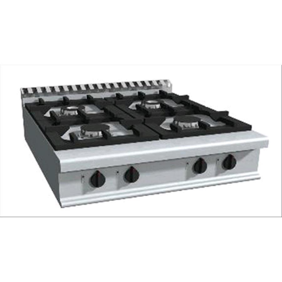 Piano cottura a gas mod e9 cug4bb n 4 fuochi for Dimensioni piano cottura