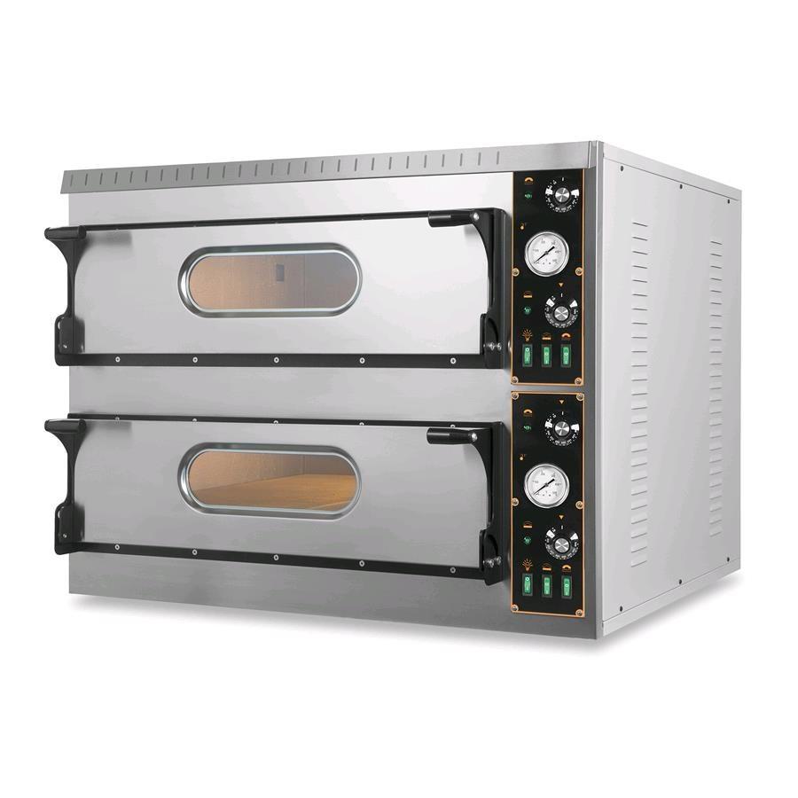 Forno elettrico per pizza mod um 99 big n 2 camere piano refra - Forno a induzione consumi ...