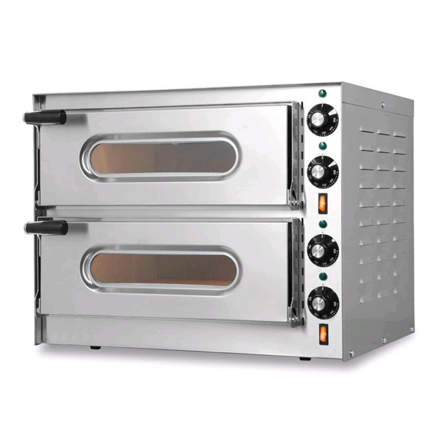 Forno elettrico per pizza mod little bis glass porta - Pietra per forno elettrico ...