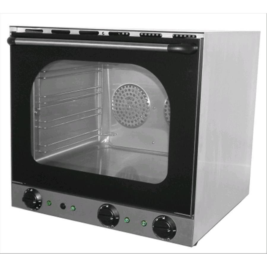 Forno elettrico a convenzione con umidificatore mod s 4 - Forni elettrici professionali per casa ...