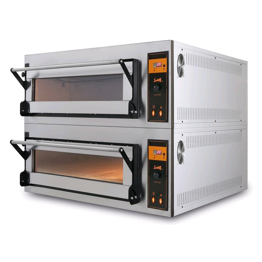 Forno elettrico per pizza pane e pasticceria mod us 44 - Forni elettrici professionali per casa ...