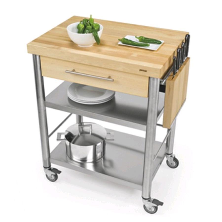 Carrello da cucina mod 692701 auxilium in acciaio - Piano lavoro cucina ...