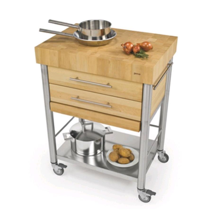 Emejing carrelli da cucina in acciaio gallery - Piano cucina acciaio ...